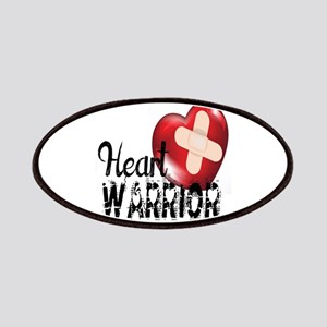 heart warrior Patches