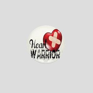 heart warrior Mini Button
