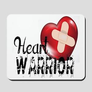 heart warrior Mousepad