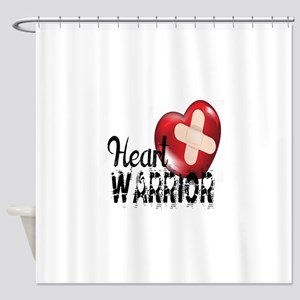 heart warrior Shower Curtain