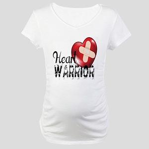 heart warrior Maternity T-Shirt
