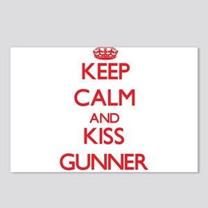 Keep Calm and Kiss Gunner Postcards (Package of 8)