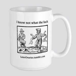 Iknwtf2 - Large Mug Mugs