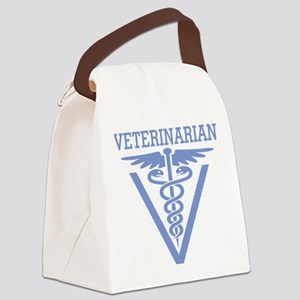 Caduceus VET (Veterinarian) Canvas Lunch Bag
