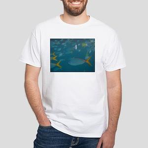 Fish Photo White T-Shirt