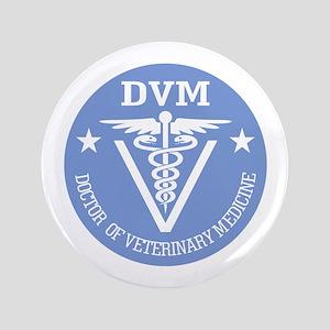 "Caduceus DVM (Doctor of Veterinary Science) 3.5"" B"