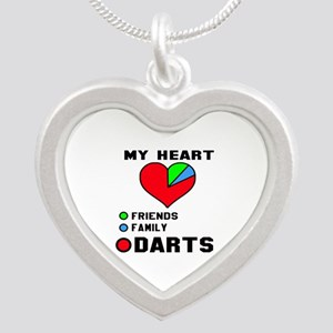 My Heart Friends, Family and Silver Heart Necklace