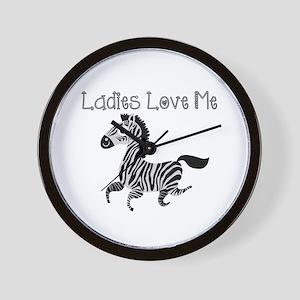 Ladies Love Me Wall Clock