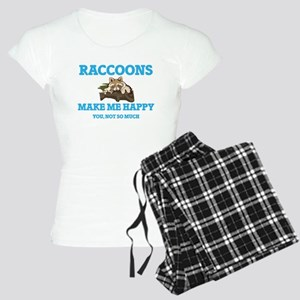 Raccoons Make Me Happy Pajamas