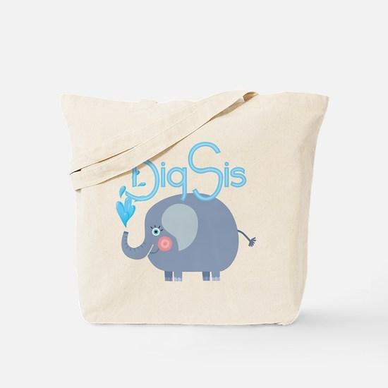 Elephant Big Sis Tote Bag
