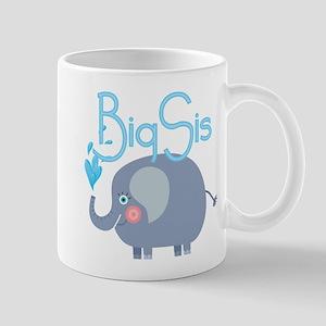 Elephant Big Sis Mug