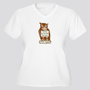 The Owls Are Not Women's Plus Size V-Neck T-Shirt