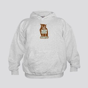 The Owls Are Not What They Seem Kids Hoodie