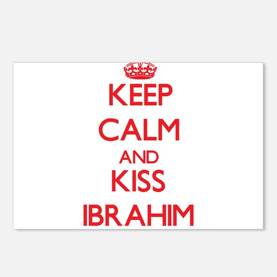 Keep Calm and Kiss Ibrahim Postcards (Package of 8