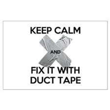 duct tape Posters
