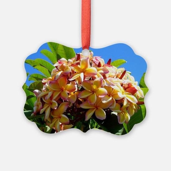 Frangipani Ornament