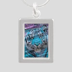 Crazy blue Tiger (C) Necklaces