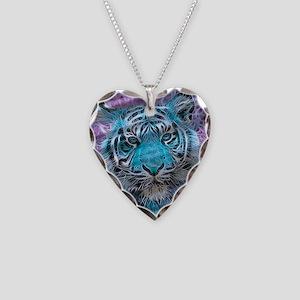 Crazy blue Tiger (C) Necklace