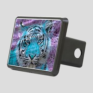 Crazy blue Tiger (C) Hitch Cover