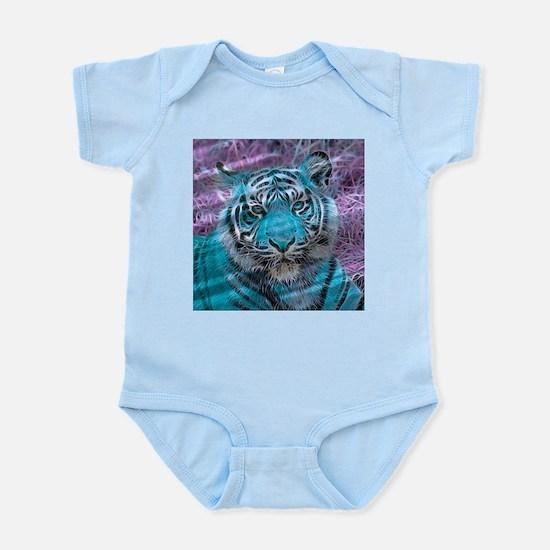 Crazy blue Tiger (C) Body Suit