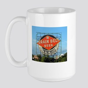 Minneapolis Grain Belt Sign Large Mug