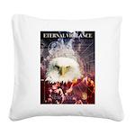 Eternal Vigilance Square Canvas Pillow