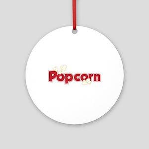 Popcorn Ornament (Round)