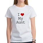 I Heart My Aunt Women's T-Shirt