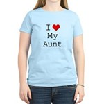 I Heart My Aunt Women's Light T-Shirt