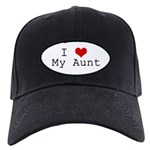 I Heart My Aunt Black Cap