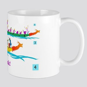 wonderful race dragon boat Mug