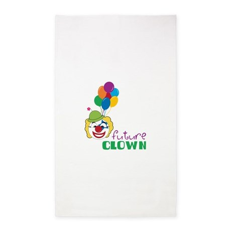 Future Clown 3'x5' Area Rug