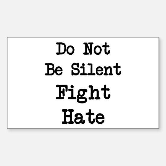 Fight Hate Decal