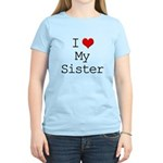 I Heart My Sister Women's Light T-Shirt