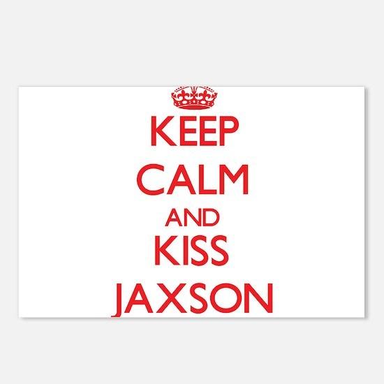 Keep Calm and Kiss Jaxson Postcards (Package of 8)