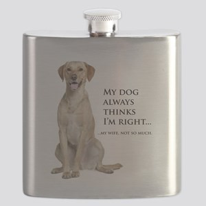 Yellow v. Wife Flask