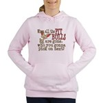 pitpullsgone.png Women's Hooded Sweatshirt
