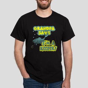grandpa says Dark T-Shirt