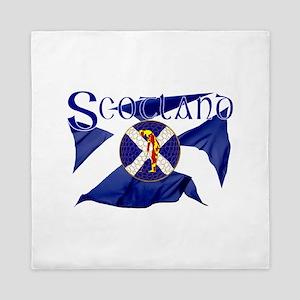 Scotland Golf Flag Queen Duvet