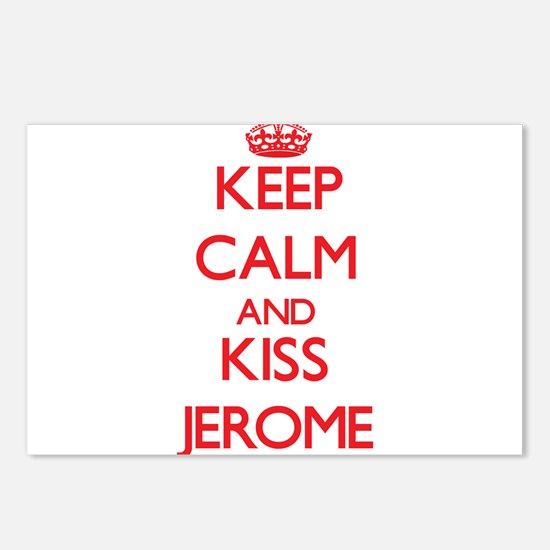 Keep Calm and Kiss Jerome Postcards (Package of 8)