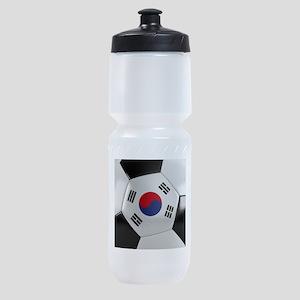 South Korea Soccer Ball Sports Bottle