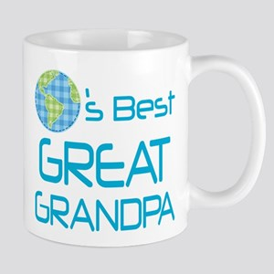 Worlds Best Great Grandpa Gift Mugs