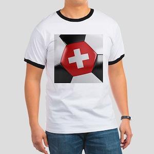 Switzerland Soccer Ball Ringer T