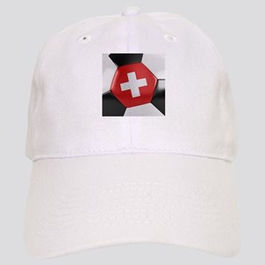 Switzerland Soccer Ball Cap