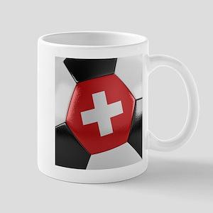 Switzerland Soccer Ball Mug
