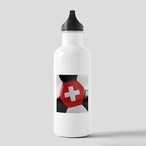 Switzerland Soccer Bal Stainless Water Bottle 1.0L
