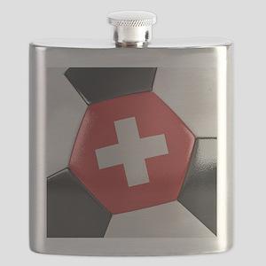 Switzerland Soccer Ball Flask