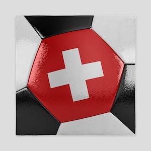 Switzerland Soccer Ball Queen Duvet