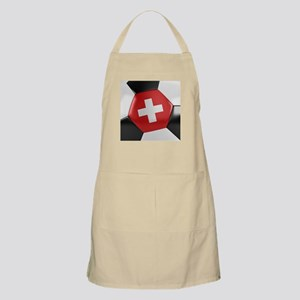 Switzerland Soccer Ball Apron