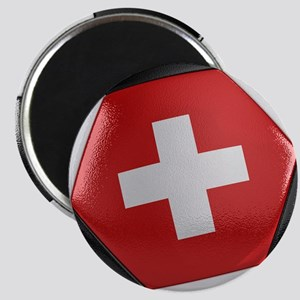 Switzerland Soccer Ball Magnet